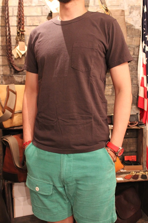 "SLOW HOLIDAY TOOL ""CREW NECK S/S POCKET TEE\"" ご紹介_f0191324_8343614.jpg"