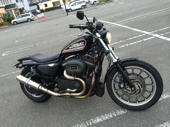 バイク屋さん的日常とSRのハンドルロック_a0139843_22111694.jpg