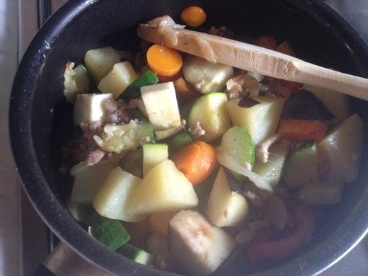 夏野菜のカレー_a0136671_1344758.jpg