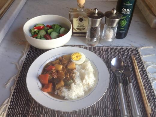 夏野菜のカレー_a0136671_20109.jpg