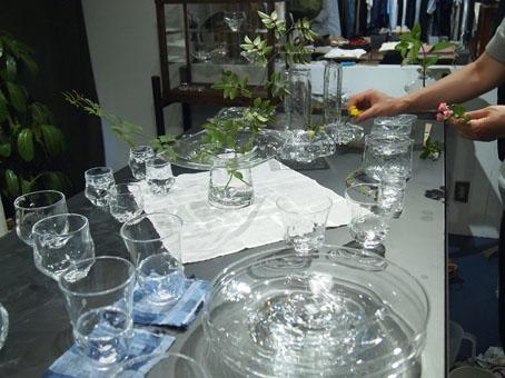 李 慶子「ガラスの器展」はじまります_b0322280_22291964.jpg
