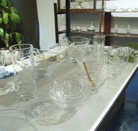 李 慶子「ガラスの器展」はじまります_b0322280_22301792.jpg