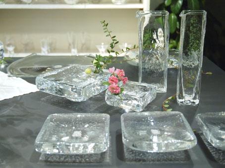 李 慶子「ガラスの器展」はじまります_b0322280_22305966.jpg