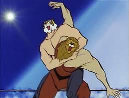準決勝第一試合:瀕死のライオンにシベリアタイガーと戦う力は残っていなかった!_e0171614_97686.jpg
