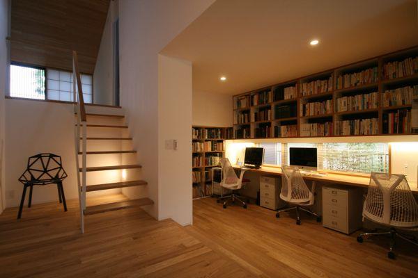 「ライブラリーのある家」のオープンハウスを開催しました!_e0029115_1615917.jpg