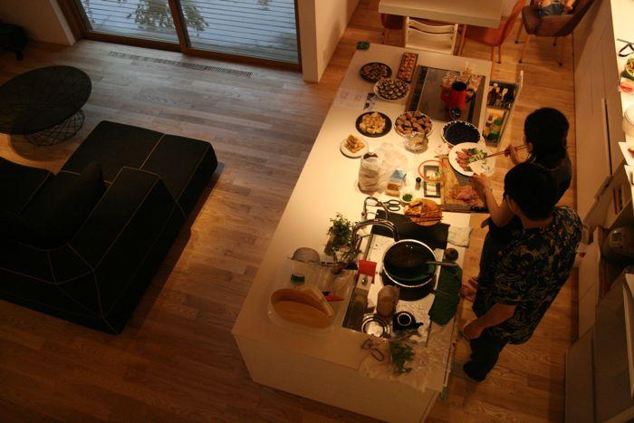 「ライブラリーのある家」のオープンハウスを開催しました!_e0029115_1685927.jpg