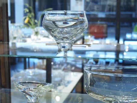 李 慶子「ガラスの器展」はじまりました!_b0322280_1263196.jpg
