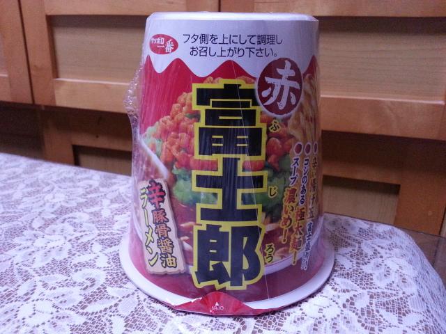 サッポロ一番 富士郎 辛豚骨醤油ラーメン¥237_b0042308_20565016.jpg