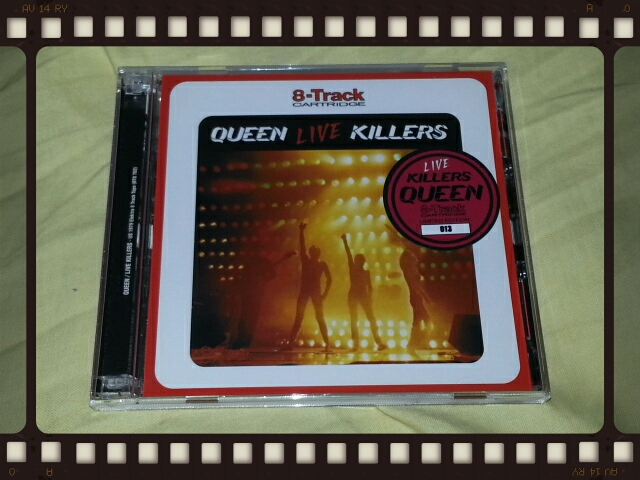QUEEN / LIVE KILLERS 8-Track CARTRIDGE_b0042308_22534174.jpg
