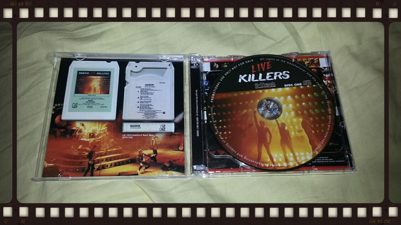 QUEEN / LIVE KILLERS 8-Track CARTRIDGE_b0042308_22534930.jpg