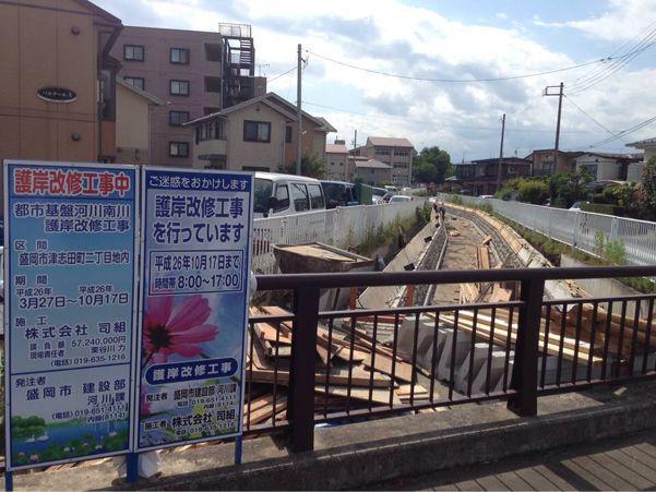 『南川』河川改修状況と自然災害_b0199244_21132791.jpg