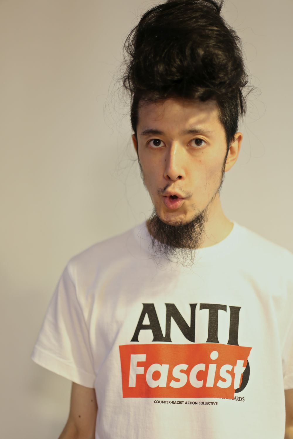 094 - 30 years old(ANTI Fascist Tee)_f0183059_21192525.jpg