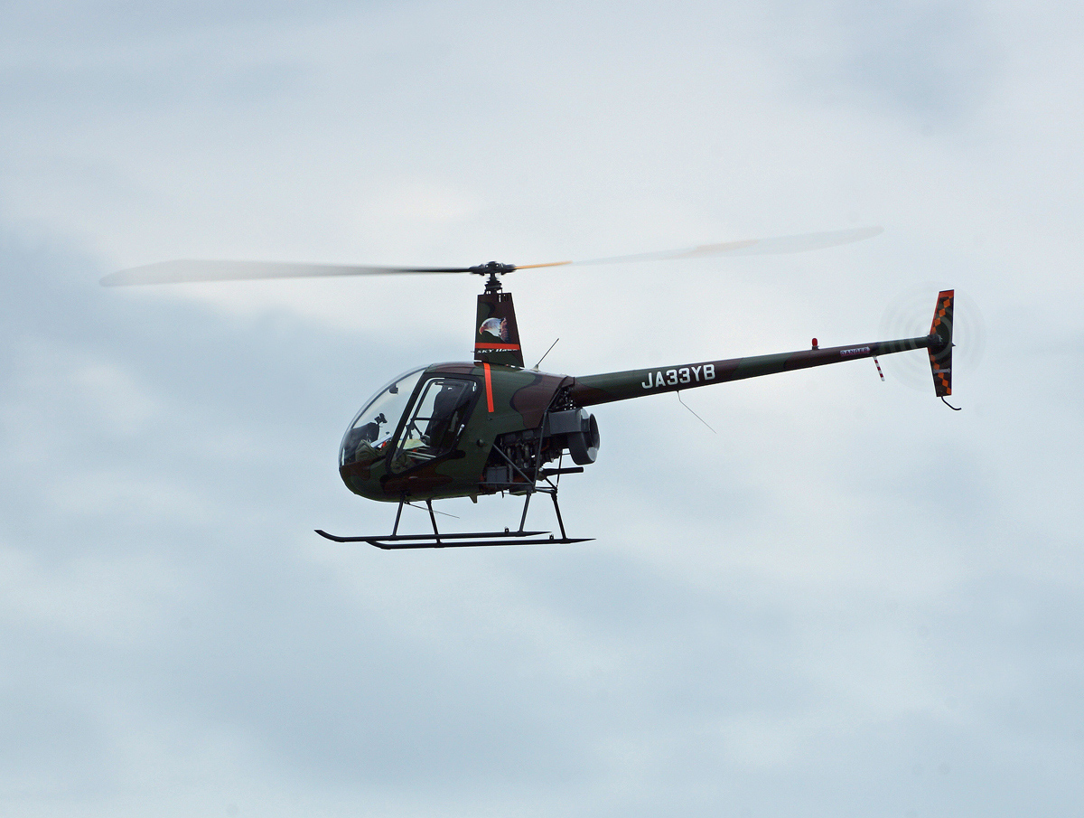 個人所有のヘリコプター。_b0044115_7593754.jpg