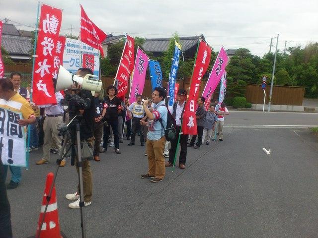 JR東日本は常磐線の竜田駅乗り入れを中止しろ!6・30いわき行動に参加_d0155415_1572391.jpg