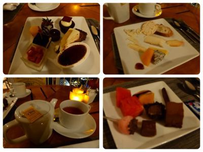 14年6月 シンガポール  16★サンズ「The Cheese and Chocolate Bar」_d0285416_2326555.jpg