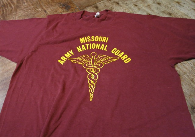 7月12日(土)入荷!80'S ARMY NATIONAL GUARD Tシャツ!_c0144020_15404628.jpg