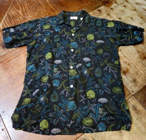 7月12日(土)入荷!50'S ARROW 黒ベース コットンシャツ!_c0144020_15492336.jpg