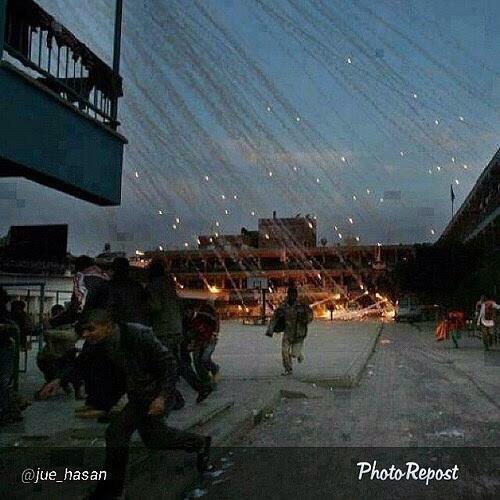 イスラエル大使館前 空爆抗議を多数の警官隊が妨害_f0212121_22505280.jpg