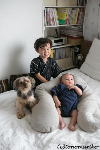 小パリオと、小パリオ弟くんと、バブーと_c0024345_1823357.jpg