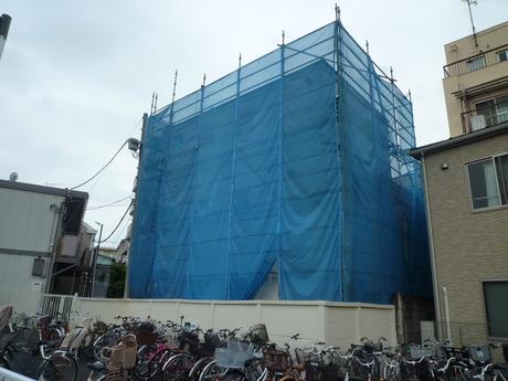 新築売りアパート完成間近(大田区編)_b0246953_209432.jpg