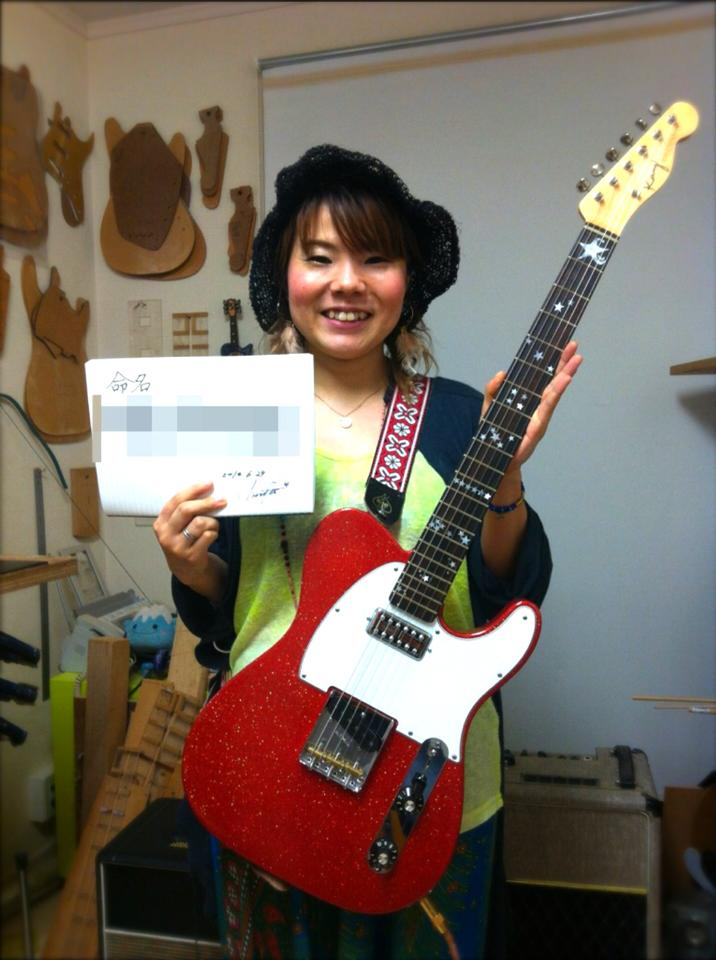 キナコ★オリジナルギター完成!_f0115311_23244486.jpg
