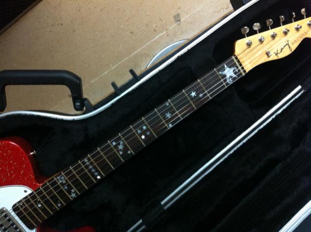 キナコ★オリジナルギター完成!_f0115311_23382771.jpg