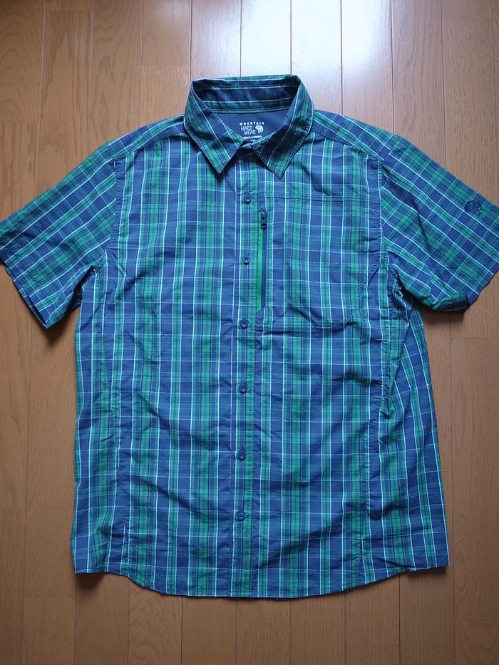 "Mountain Hard Wear ""Seaver Tech Short Sleeve Shirt""_b0219778_1151471.jpg"