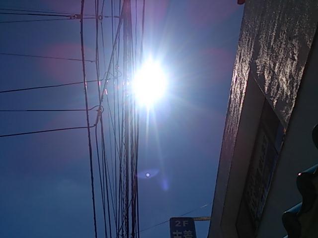 『青空、虹、そしておめでとう!カオリン』_a0075684_0523978.jpg