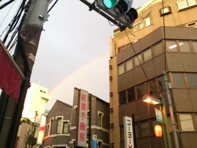 『青空、虹、そしておめでとう!カオリン』_a0075684_0523991.jpg