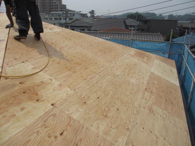屋根葺き替え_e0190287_19131212.jpg
