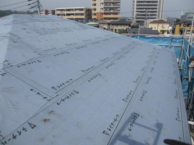 屋根葺き替え_e0190287_19142263.jpg