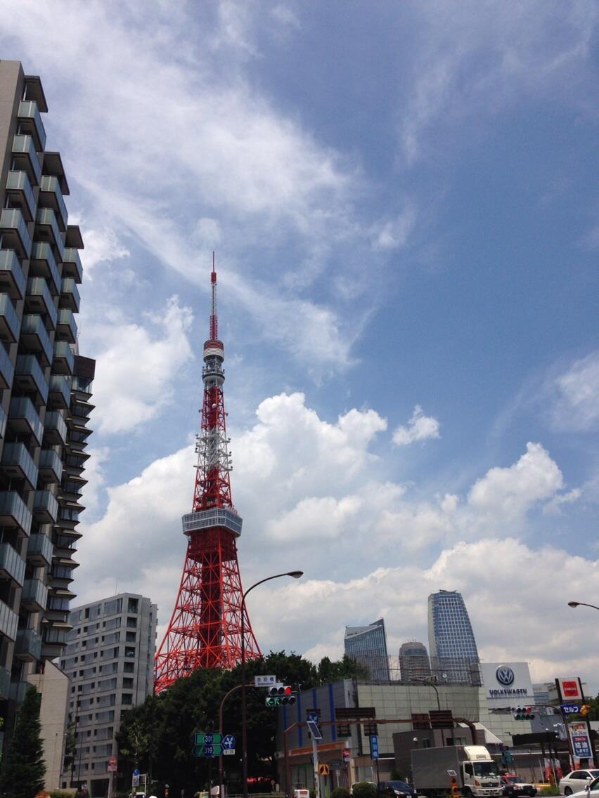 赤羽橋のチョモランマとスーパームーン_d0167002_09495673.jpg