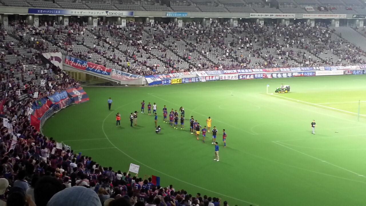第94回天皇杯全日本サッカー選手権2回戦 FC東京 - ブラウブリッツ秋田_b0042308_22314667.jpg