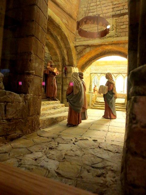 ぺドラルべス修道院で11 ジオラマ_b0064411_05521267.jpg