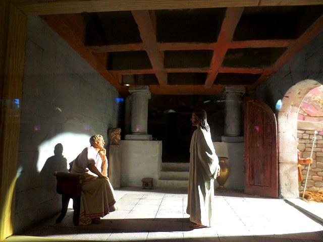 ぺドラルべス修道院で11 ジオラマ_b0064411_05551018.jpg