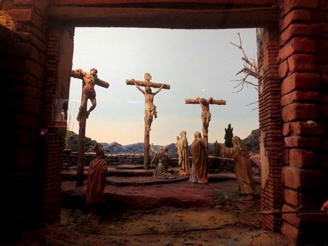 ぺドラルべス修道院で11 ジオラマ_b0064411_05574443.jpg