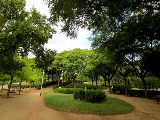 セルバンテス公園へ散歩に_b0064411_06275200.jpg