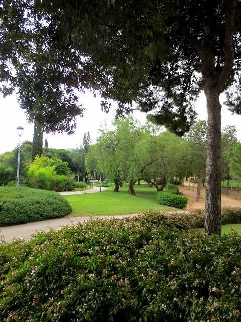 セルバンテス公園へ散歩に_b0064411_06331933.jpg