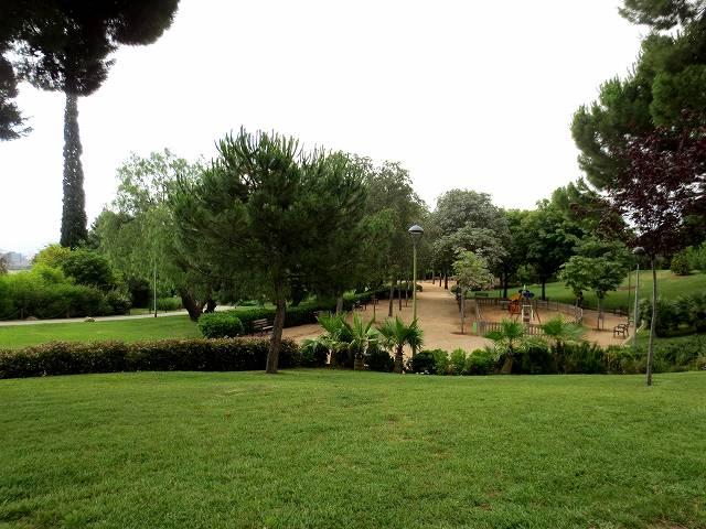 セルバンテス公園へ散歩に_b0064411_06331948.jpg