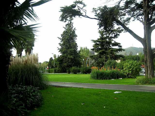 セルバンテス公園へ散歩に_b0064411_07071392.jpg