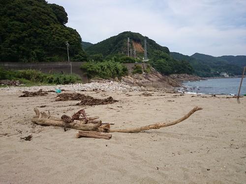 【中山間支援事業】大泊海水浴場の清掃(日曜日もやります)_c0010936_0244448.jpg