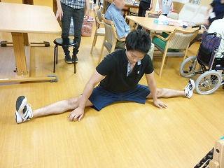 介護体験の学生さん<アクティブライフ夙川>_c0107602_11413950.jpg
