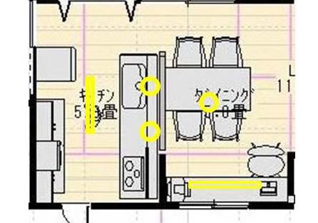 照明計画~キッチン&ダイニング_f0319815_05481954.jpg