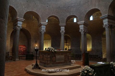 私のヒーリングスポット(3)サンタ・コスタンツァ霊廟♪_c0206352_2491754.jpg