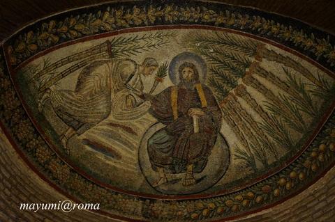 私のヒーリングスポット(3)サンタ・コスタンツァ霊廟♪_c0206352_4474368.jpg