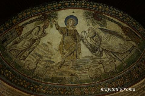私のヒーリングスポット(3)サンタ・コスタンツァ霊廟♪_c0206352_451502.jpg