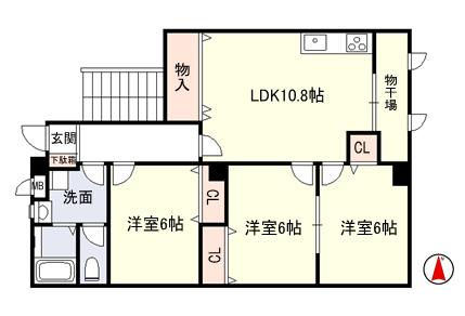 稲葉2丁目 リノベーション完了!賃貸マンション3部屋入居募集!_e0251265_12214335.png