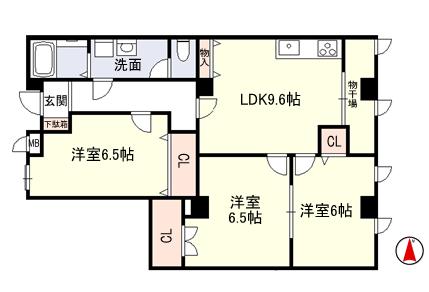 稲葉2丁目 リノベーション完了!賃貸マンション3部屋入居募集!_e0251265_12224310.png