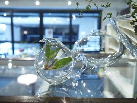 李 慶子「ガラスの器展」6日目_b0322280_2243092.jpg