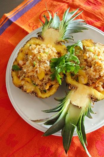簡単「パイナップルチャーハン」であの南の島で食べた味がおうちでも楽しめる!?